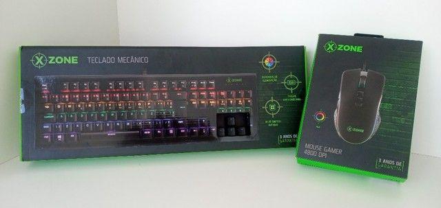 Teclado e Mouse Gamer X-Zone