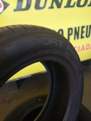 pneu dunlop 195/55R15 cm 5 anos de garantia.