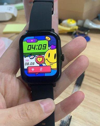 P8 Plus Smartwatch + PELÍCULA GRÁTIS (6X SEM JUROS)