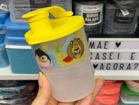 Copos com Bico Largo Tupperware 225 ml Madagascar