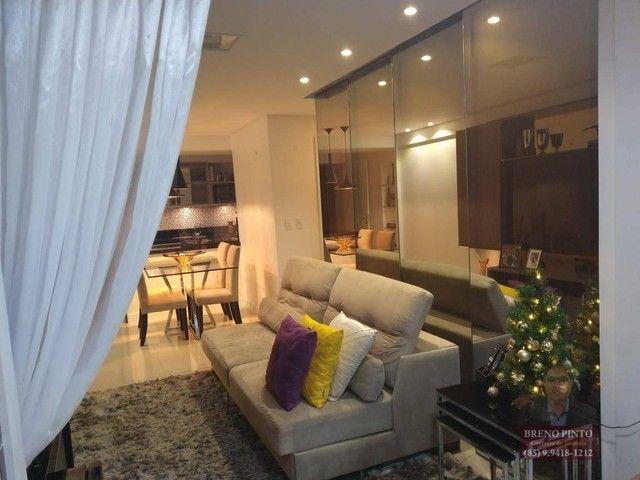 Apartamento no Mareés Residence Meireles com 2 dormitórios à venda, 73 m² por R$ 650.000 - - Foto 14