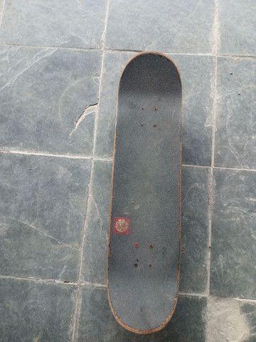 Skate montado peças top