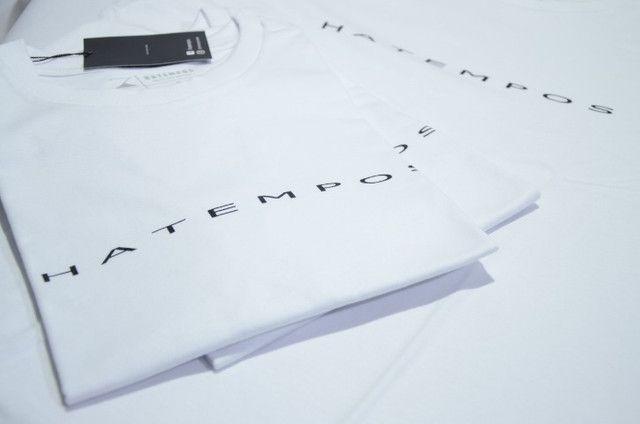 Camiseta Hatempos Original Escrita - Foto 4