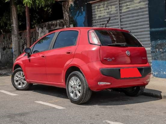 Fiat Punto 1.4 Attactive 8V Flex 4P Manual FEIRÃO - Foto 9