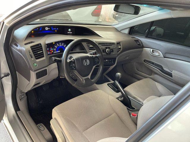 Honda Civic Lxs 1.8 flex manual 2014 Obs! Sem detalhes - Foto 9
