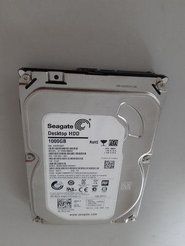 HD 1TB para desktop marca Seagate usado - Foto 2