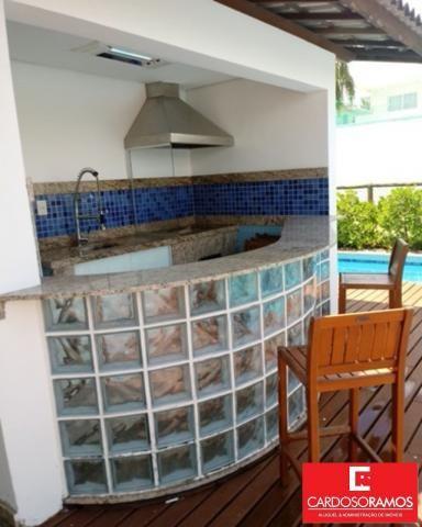 Casa de condomínio para alugar com 4 dormitórios em Busca vida, Camaçari cod:CA00335 - Foto 17