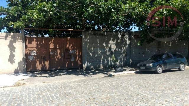 Terreno à venda, 1060 m² por r$ 800.000 - jardim olinda - cabo frio/rj