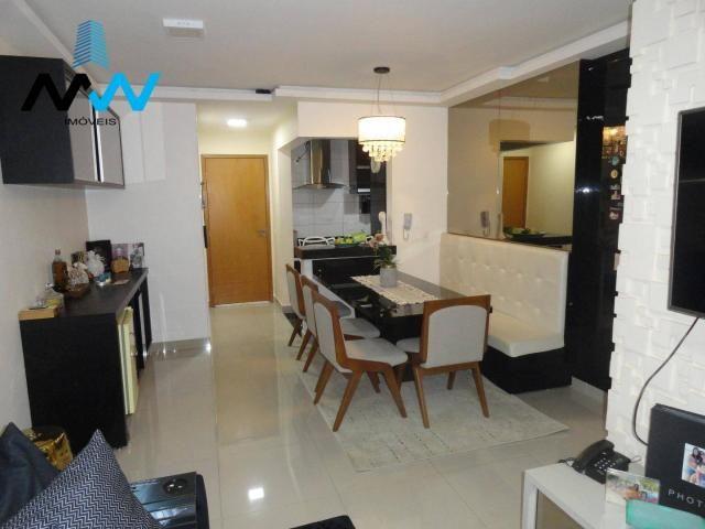 Apartamento no residencial mirantes do vale - bairro jundiaí anápolis - Foto 3