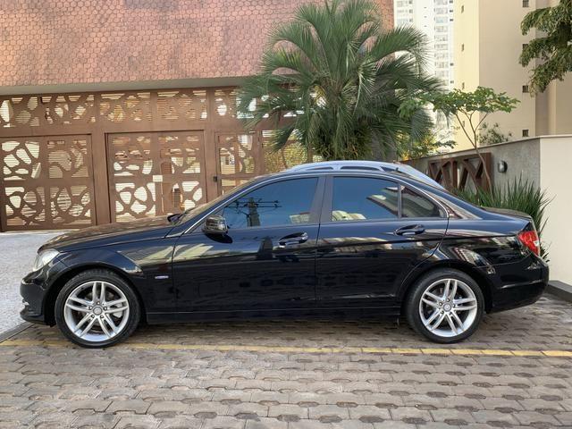 Mercedes c 180 turbo preta 2012 - Foto 5