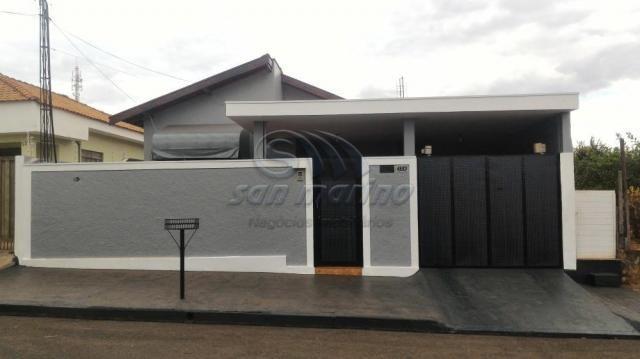 Casa à venda com 3 dormitórios em Jardim kennedy, Jaboticabal cod:V3415