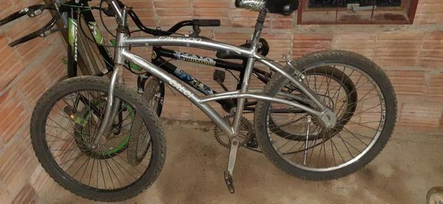 Vendo bicicleta de alumínio - Foto 2