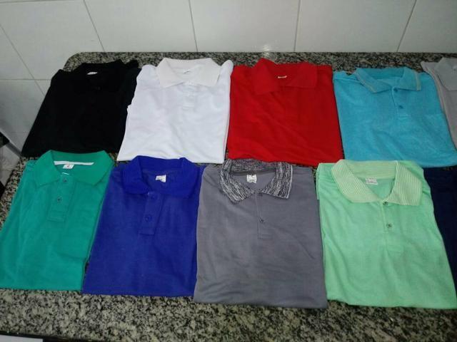 Camisas polo masculina e feminina - Foto 6