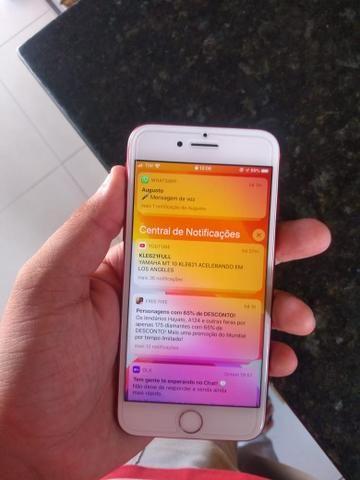 IPhone 7 Red muito novo - Foto 3