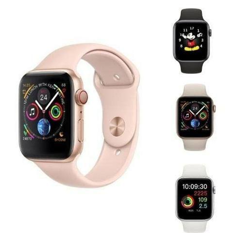 Relógio inteligente rose compatível para iPhone Samsung - Foto 4