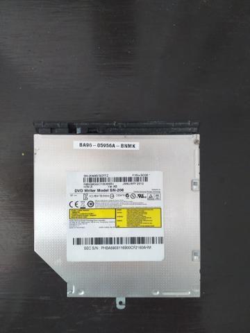 Gravadora de dvd notebook samsung por 50 reais