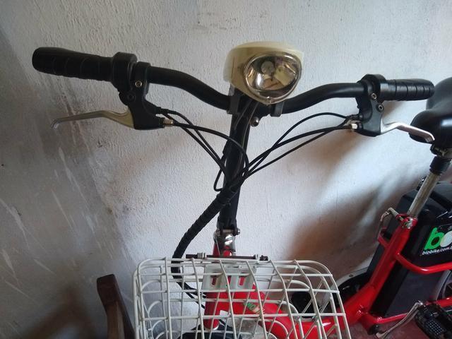 Bicicleta elétrica modelo raro
