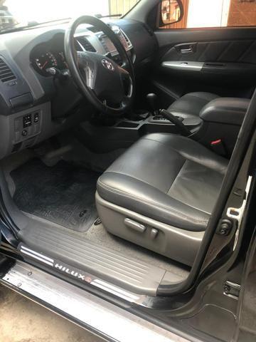 Hilux 2012 SRV 3.0 4x4 Turbo Diesel - Foto 7