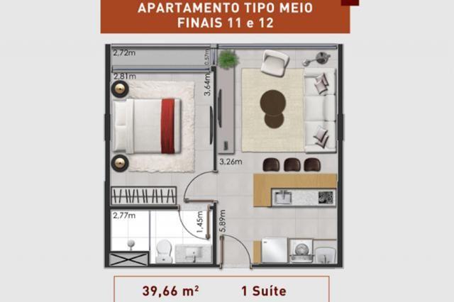 Prático e moderno - Apartamento 1 Quarto - LIV  - Foto 15