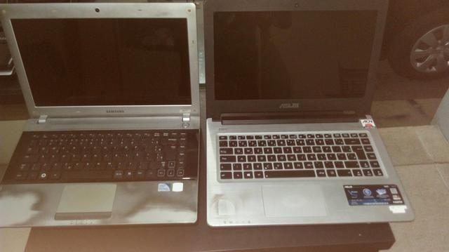 Vendo dois notebooks para retirar peças - Foto 2