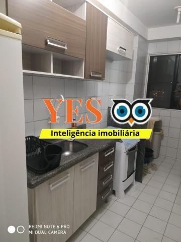 Yes imob - apartamento mobiliado para locação, muchila, feira de santana, 3 dormitórios se - Foto 8