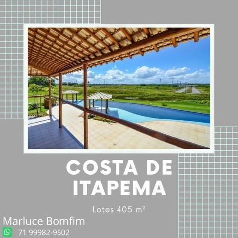 Costa de Itapema - Condomínio clube, praia privativa, lotes 58.500- Saubara