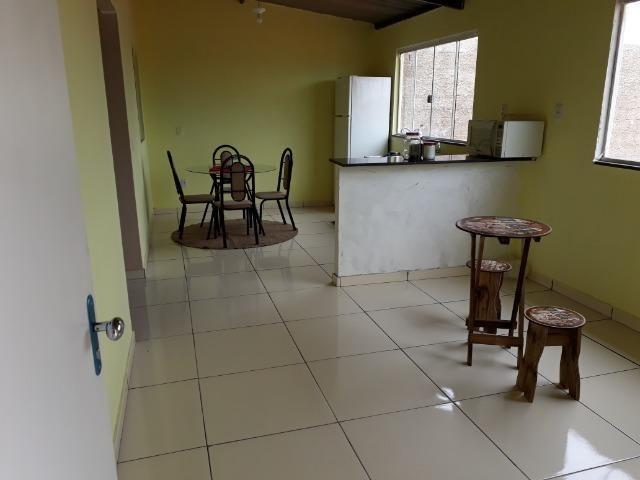 Casa nova, espaçosa com area de churrasqueira, 2quartos, 2 banheiros, lote de 400metros - Foto 8