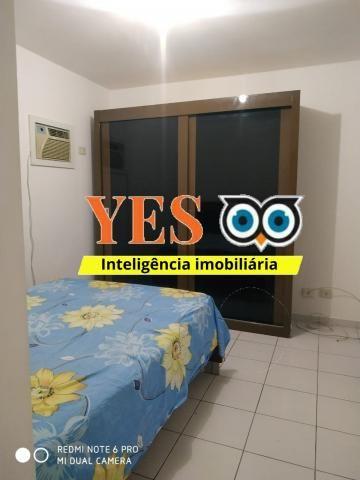 Yes imob - apartamento mobiliado para locação, muchila, feira de santana, 3 dormitórios se - Foto 3