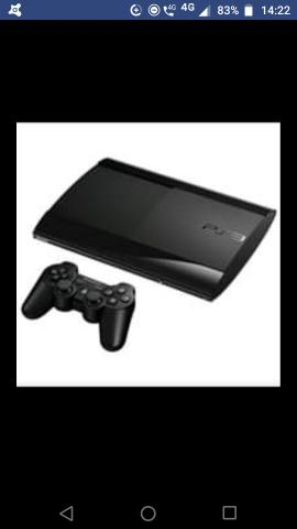 Playstation 3 500g slim só o console por 550 ou com 4 jogos originais por 650 - Foto 4