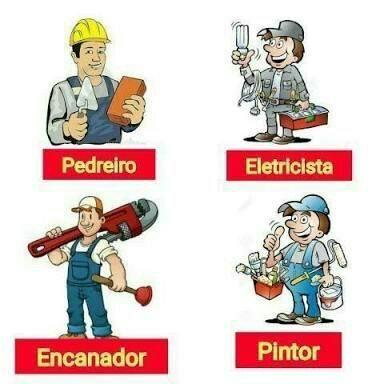 Pedreiro e eletricista