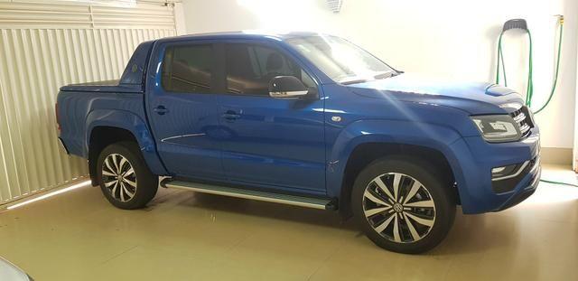 Amarok Extreme V6 2019/19 Diesel Azul - Único Dono - Placa 0 - Só Dinheiro - Foto 2