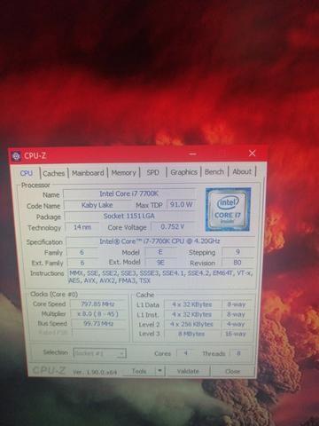 Intel Core i7 7700K Semi Novo - Foto 2