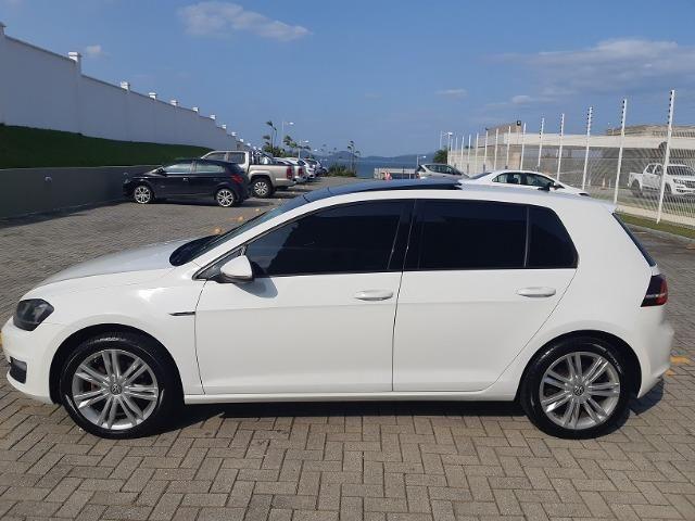 VW Golf Highline 1.4 TSI - com Teto Solar - pacote premium - Aceito Troca - Foto 10