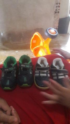 Sapatos do Arthur