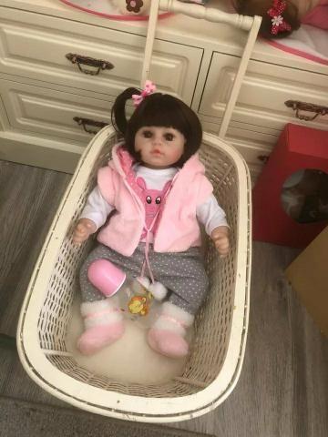 Boneca bebê reborn (ultra realista) - Foto 5