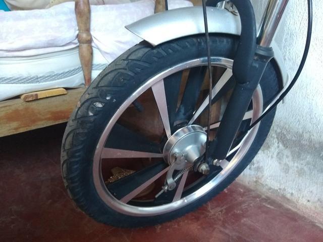 Bicicleta elétrica modelo raro - Foto 2