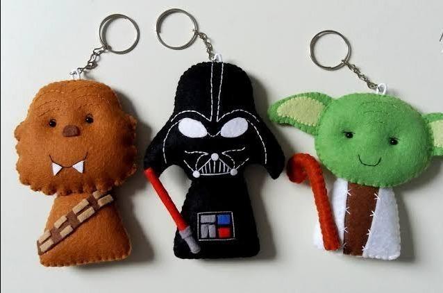 Chaveiros de feltro Star Wars Caprichados - Foto 2