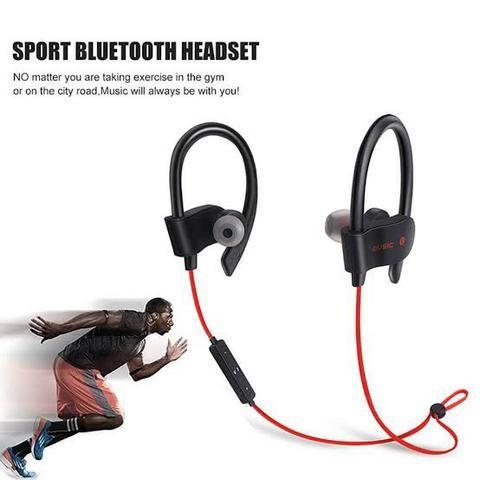 Fone De Ouvido Sport Rt558 Original Bluetooth Android iOS Música - Foto 4