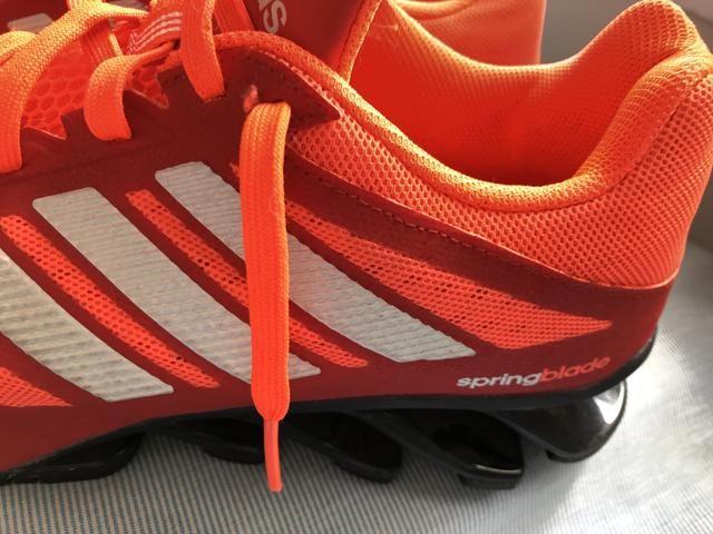 Vendo tênis Adidas Springblade vermelho 602a04dffaf89
