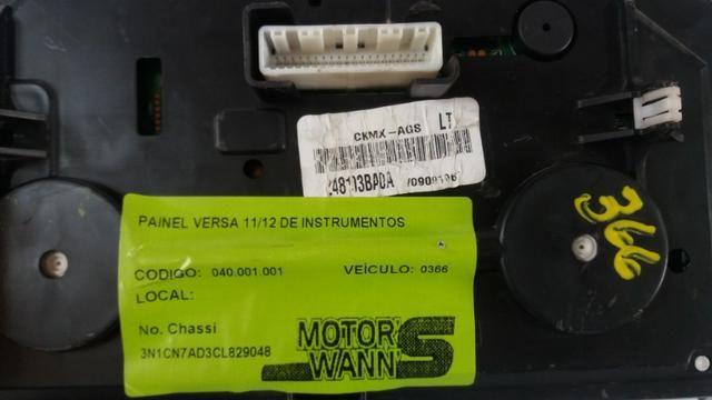 Painel De Instrumento Nissan Versa 2011/2013 Com Garantia Nf - Foto 3