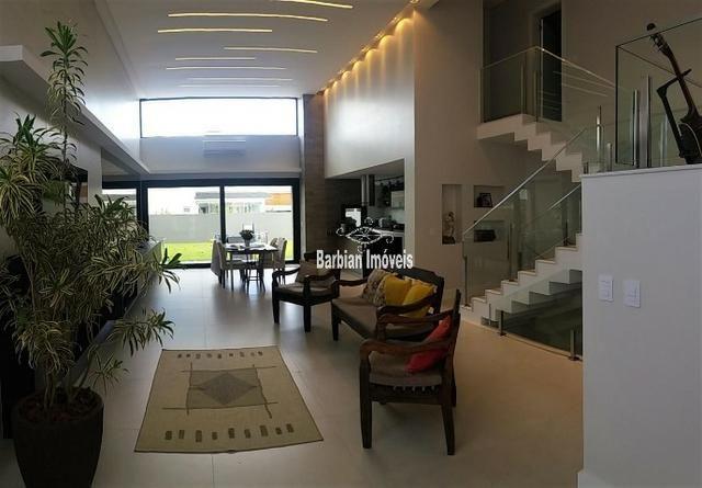Barbian Imóveis - Casa em condomínio fechado com 4 suítes - Santa Cruz do Sul - Foto 3
