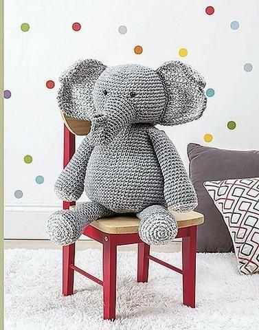 Amigurumi Ursinho ou Ursinha Grande | Urso de crochê, Ursinho ... | 480x377