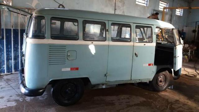 Kombi antiga corujinha 1965  - Foto 12