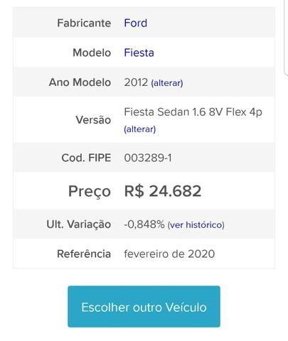 Ford fiesta sedan 1.6 flex *unico dono - Foto 8
