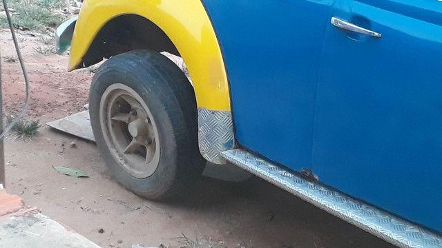 Roda gaucha fusca aro 14 - Foto 5