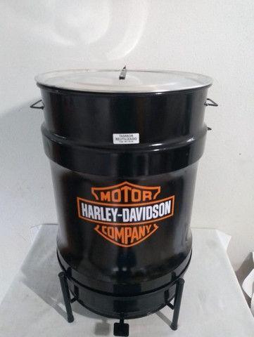 Lixeiras Cervejeiras metálicas personalizadas 60 litros - Foto 2