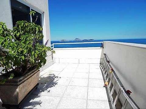 Cobertura Vista p/Mar 4 qrtos em Ipanema - Foto 2