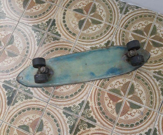 Skate Torlay fibra de vidro. Relíquia dos anos 70. - Foto 3