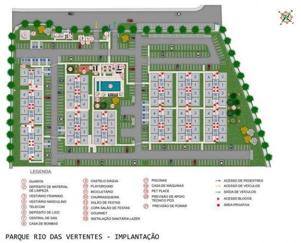 Parque Rio das Vertentes - Apartamentos de 2 dorms. 39 ou 45m² - São José do Rio Preto - S - Foto 12