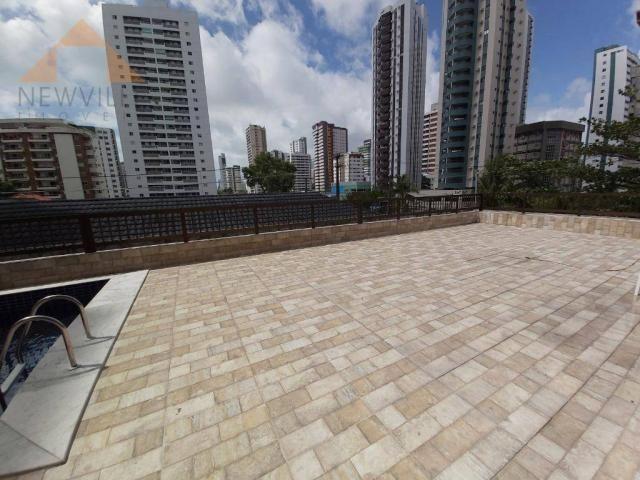 Apartamento com 1 quarto para alugar, 43 m² por R$ 1.599/mês - Boa Viagem - Recife/PE - Foto 14